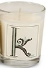 Illume Monogram K Candle