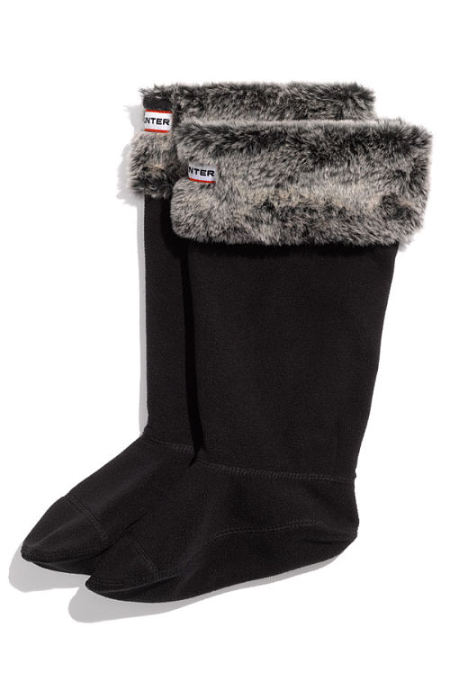 hunter welly grizzly sock
