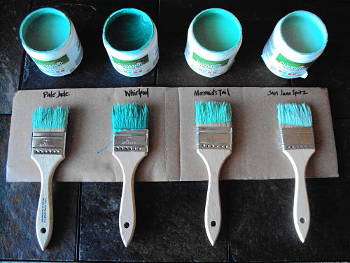 olympic paint and stain turquoise paint