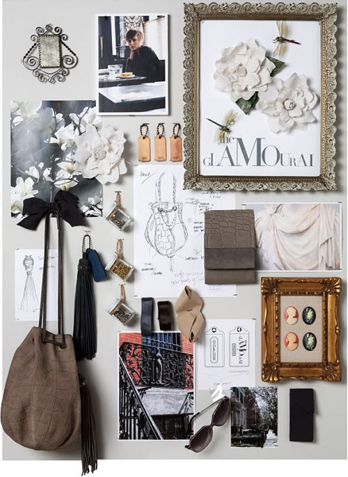 the glamourai coach inspiration board