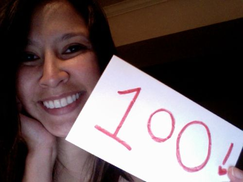 kimberlyloc's 100th blog post