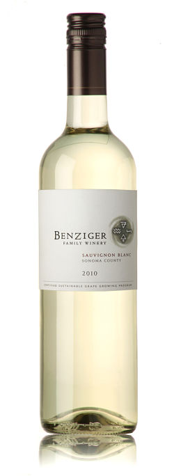 benziger family winery 2010 sonoma county sauvignon blanc