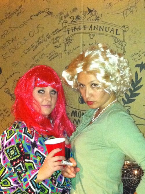 nicki minaj and betty draper halloween costume