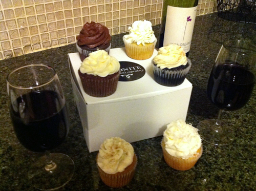 midnight confection's cupcakes baltimore city and wine