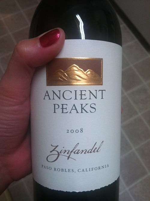ancient peaks california zinfandel