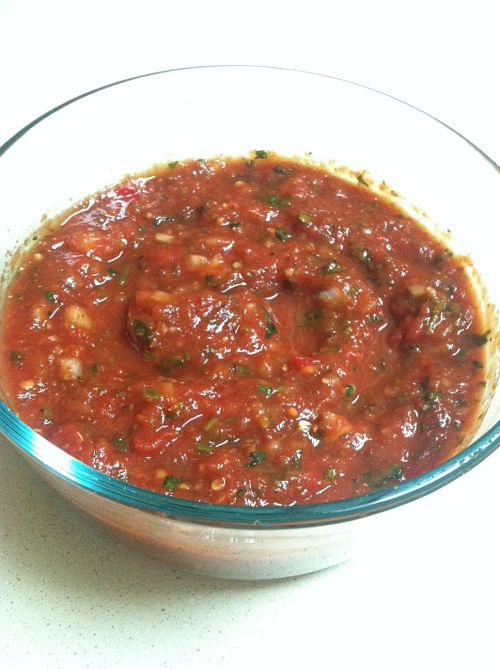 kimberlyloc homemade hot salsa