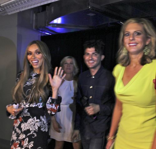 giuliana rancic and crew at fashion for a cause kansas city