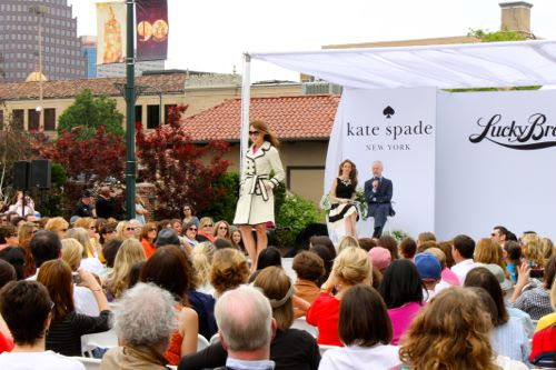 tim gunn kate spade fashion show kansas city