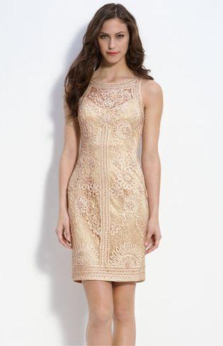 sue wong beige dress