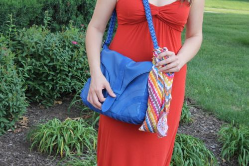 kimberlyloc emberskye royal blue chantel bag