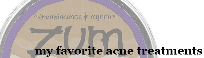 kimberlyloc's favorite acne treatments