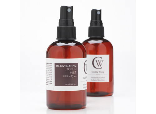 {Cecilia Wong Skincare sent me a sample of its Rejuvenating Toner Mist, which retails for $32 for 4 ounces. I'll be ordering a bottle of this to replace my just-finished bottle ASAP! Photo Courtesy Cecilia Wong Skincare}