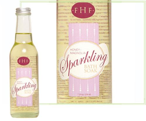farmhouse fresh honey-magnolia sparkling soak