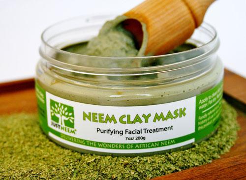 just neem neem clay mask