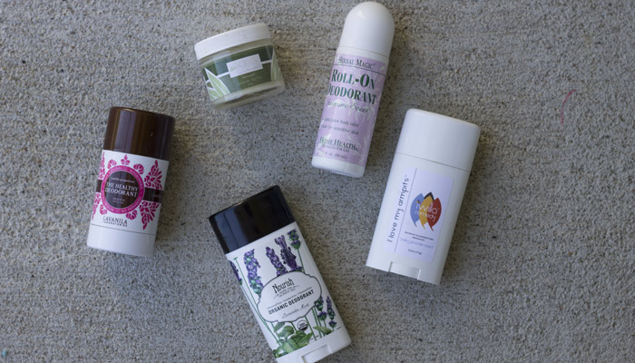 which natural deodorants work best