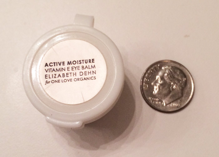 elizabeth dehn for one love organics vitamin e active moisture eye balm
