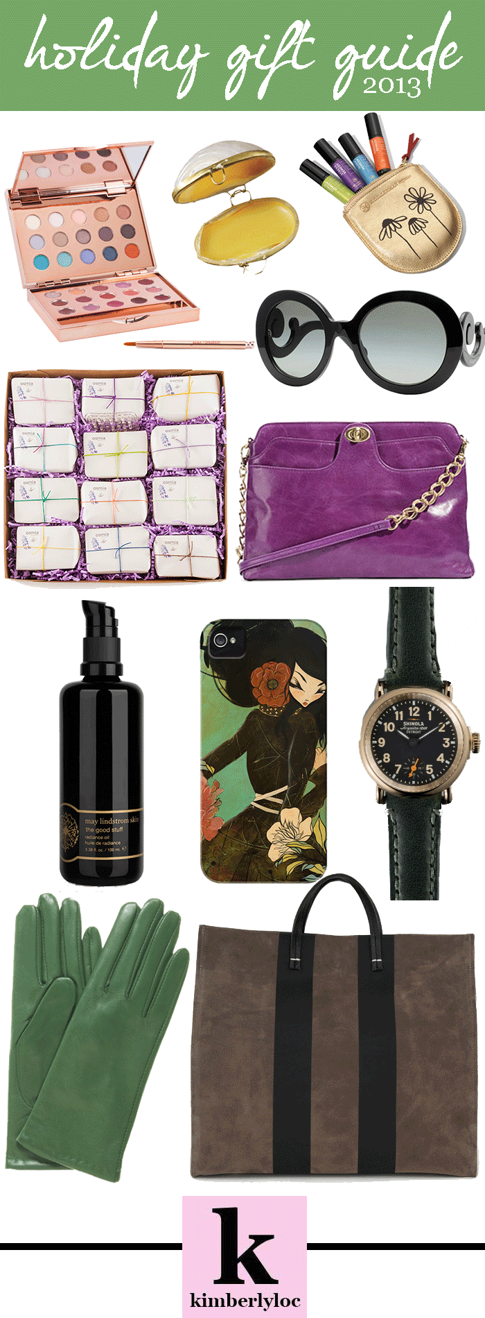 kimberlyloc holiday gift guide 2013