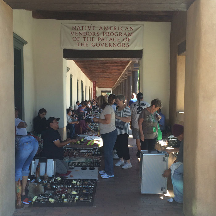 native american vendors program at the palace of the governors santa fe