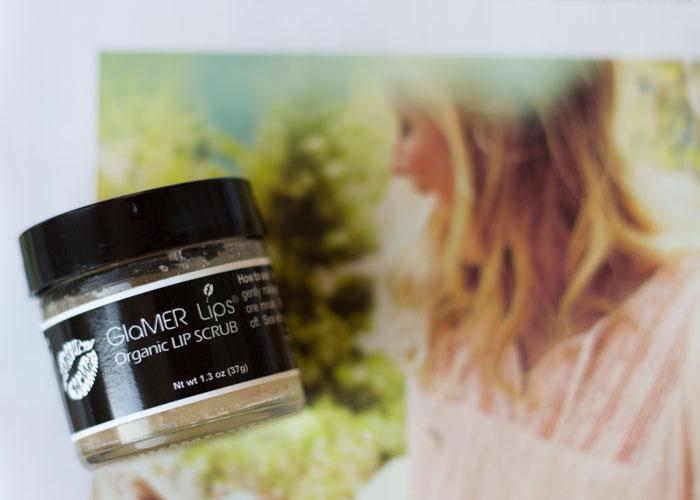 makeup by mer glamer lips organic lip scrub